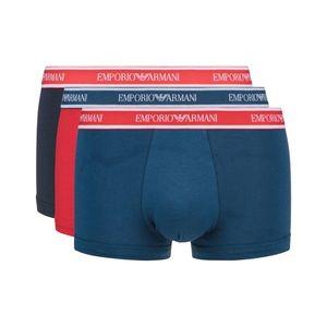 Emporio Armani 3-pack Bokserki Niebieski Czerwony obraz