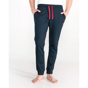 Emporio Armani Spodnie do spania Niebieski obraz