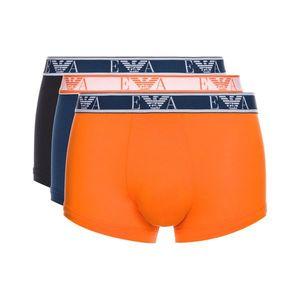Emporio Armani 3-pack Bokserki Niebieski Pomarańczowy obraz