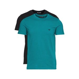 Emporio Armani 2-pack Dolna koszulka Czarny Niebieski Zielony obraz