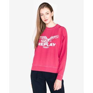 Replay Bluza Różowy obraz