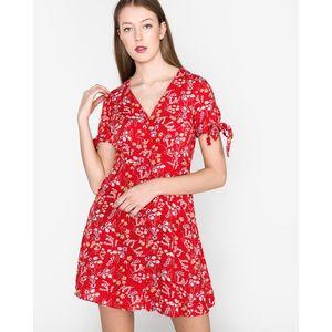 Vero Moda Lotus Sukienka Czerwony obraz