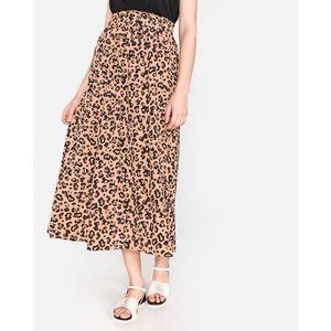 Vero Moda Green Ankle Spódnica Brązowy obraz