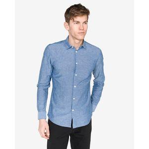 SELECTED Koszula Niebieski obraz