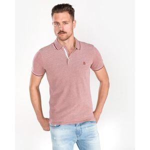 SELECTED Twist Polo Koszulka Czerwony obraz