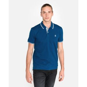 SELECTED Polo Koszulka Niebieski obraz