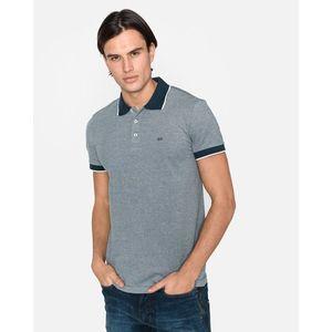GAS Esus/S Polo Koszulka Niebieski Szary obraz