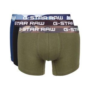 G-Star RAW 3-pack Bokserki Czarny Niebieski Zielony obraz