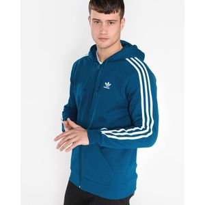 adidas Originals 3-Stripes Bluza Niebieski obraz