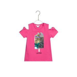 Guess Koszulka dziecięce Różowy obraz
