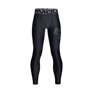 Under Armour HeatGear® Armour Legginsy Czarny obraz