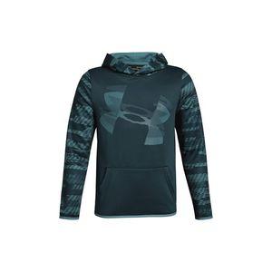 Under Armour Fleece® Bluza dziecięca Niebieski Zielony obraz