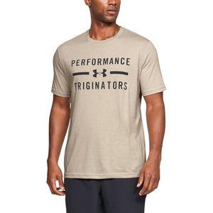 Under Armour Performance Originators Koszulka Brązowy Beżowy obraz