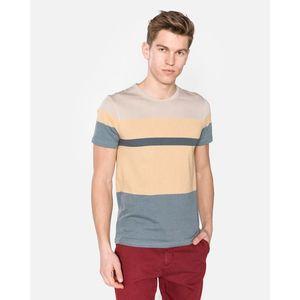 SELECTED Koszulka Niebieski Żółty obraz