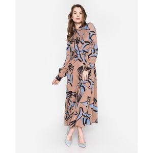 SELECTED Friga Sukienka Brązowy obraz