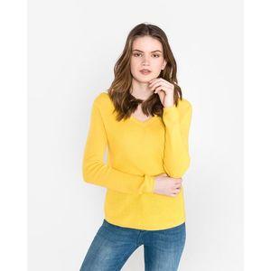 Vero Moda Lex Sweter Żółty obraz
