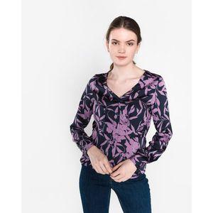 Vero Moda Olivia Bluzka Różowy Fioletowy obraz