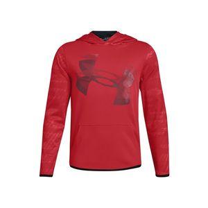 Under Armour Fleece® Bluza dziecięca Czerwony obraz