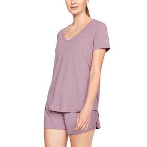 Under Armour Athlete Recovery Sleepwear™ Koszulka do spania Różowy Fioletowy obraz