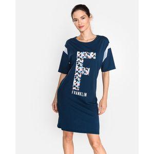 Franklin & Marshall Sukienka Niebieski obraz