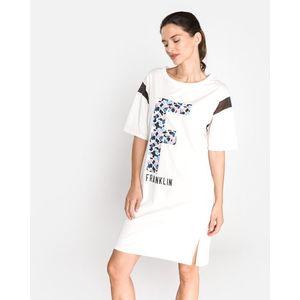 Franklin & Marshall Sukienka Biały obraz