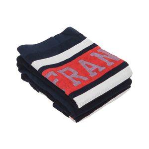 Franklin & Marshall Ręcznik Niebieski Czerwony obraz
