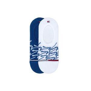 Tommy Hilfiger 2-pack Skarpetki Niebieski Biały obraz