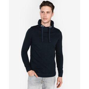 Tom Tailor Sweter Niebieski obraz