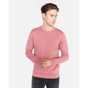 Tom Tailor Sweter Różowy Beżowy obraz