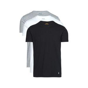 Polo Ralph Lauren 3-pack Dolna koszulka Czarny Biały Szary obraz