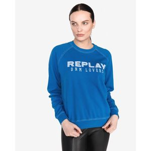Replay Bluza Niebieski obraz