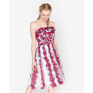 French Connection Sukienka Różowy Biały obraz