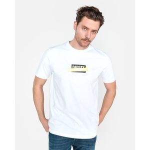 Diesel Just Die Koszulka Biały obraz