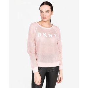 DKNY Bluza Beżowy obraz