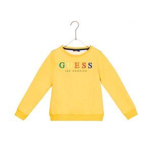 Guess Bluza dziecięca Żółty obraz