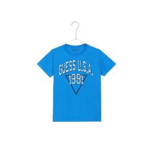 Guess Koszulka dziecięce Niebieski obraz