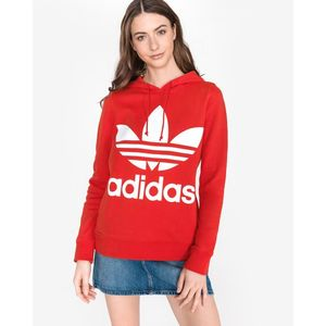 adidas Originals V-Day Trefoil Bluza Czerwony obraz