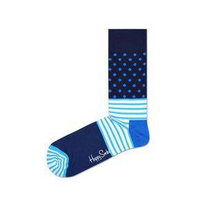 Happy Socks Stripes & Dots Skarpetki Niebieski obraz