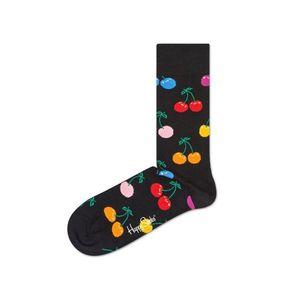 Happy Socks Cherry Skarpetki Czarny Wielokolorowy obraz