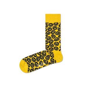 Happy Socks Twisted Smile Skarpetki Żółty obraz
