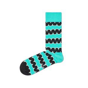 Happy Socks Squiggly Skarpetki Niebieski obraz