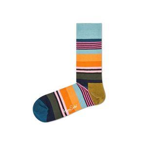 Happy Socks Multi stripe Skarpetki Wielokolorowy obraz