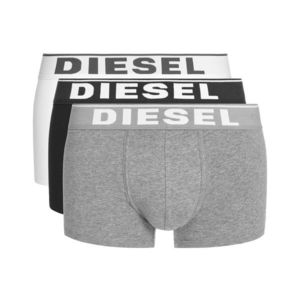 Diesel 3-pack Bokserki Czarny Biały Szary obraz
