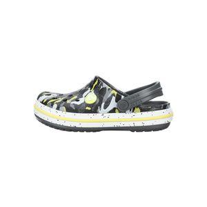 Crocs Crocband™ Clog Crocs dziecięce Czarny Żółty Wielokolorowy obraz