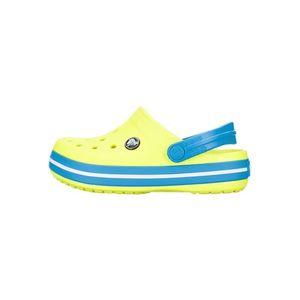 Crocs Crocband™ Clog Crocs dziecięce Niebieski Żółty obraz