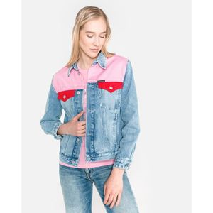Calvin Klein Kurtka Niebieski Różowy obraz