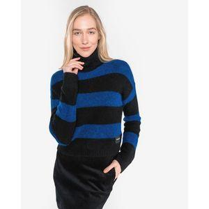 Calvin Klein Sweter Czarny Niebieski obraz