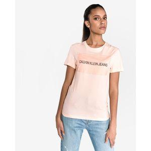 Calvin Klein Koszulka Różowy Beżowy Pomarańczowy obraz
