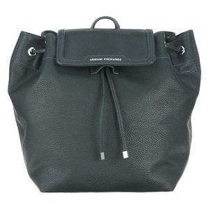 Armani Exchange Plecak Czarny Zielony obraz