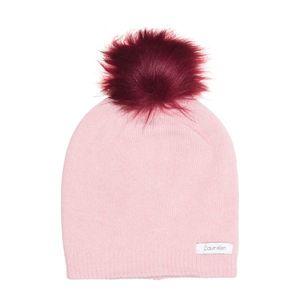 Calvin Klein Czapka zimowa Różowy Beżowy obraz